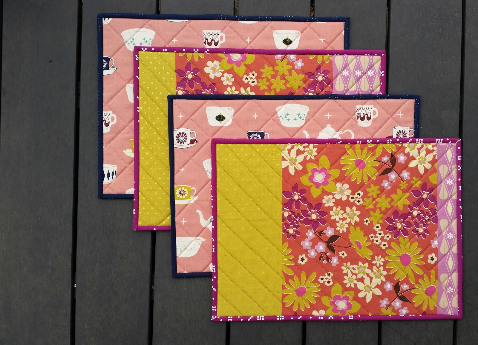 Elven Garden Quilts: Melody Miller Placemats