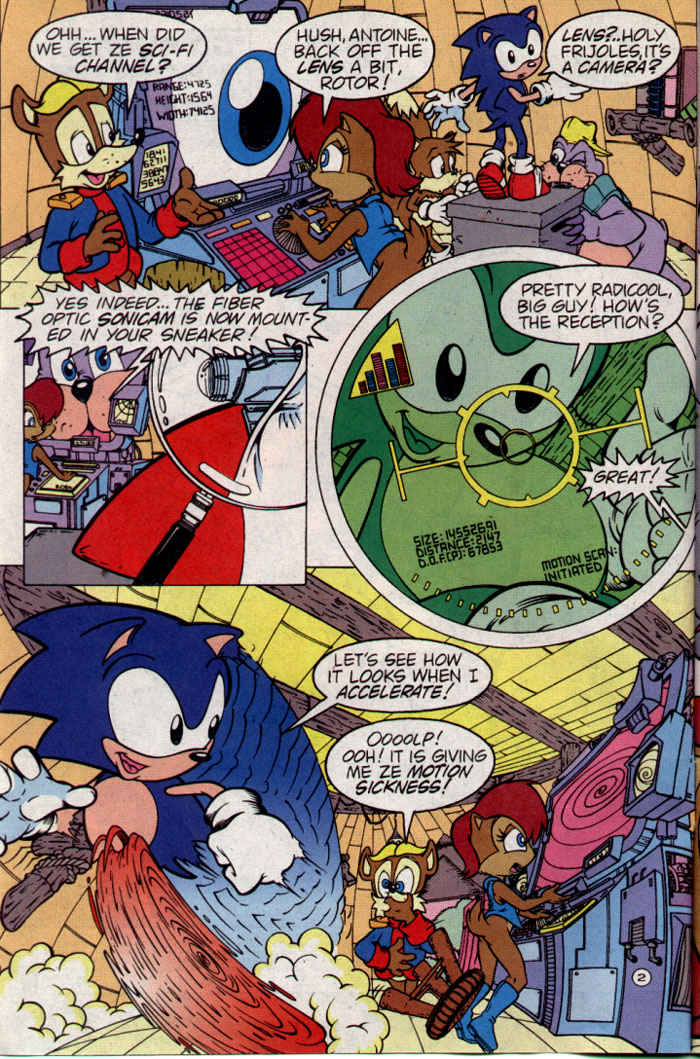 Read online Sonic The Hedgehog comic -  Issue #25 - 3