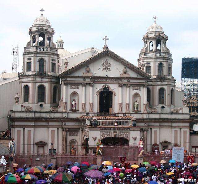 Quiapo Church during Holy Week