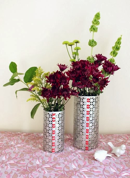 Diy Flower Vases Makeover With Empty Glass Jars Diy