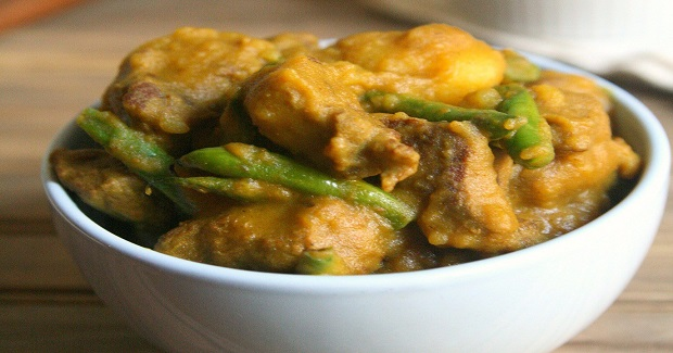 Thai Coconut Beef Curry With Potatoes And Green Beans Recipe