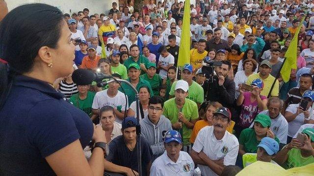 Laidy Gómez: Hay que convertir la impotencia, la depresión y la decepción en fuerza para salir a votar