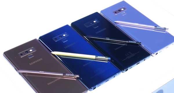 Cara Mengambil Screenshot di Samsung Galaxy Note 9
