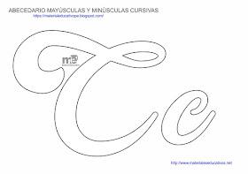 Moldes De Letras Cursivas Mayusculas Y Minusculas Material Educativo