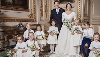 Οι πρώτες επίσημες φωτογραφίες από τον γάμο της πριγκίπισσας Ευγενίας (Photos)