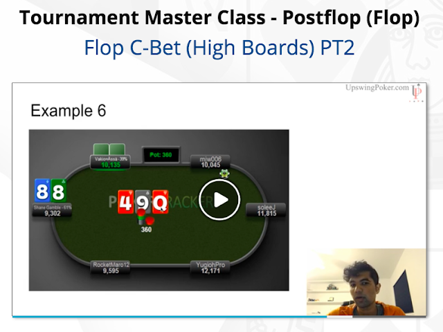 Upswing Poker Tournament Master Class Review