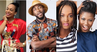 Big Brother Naija; TBoss, Marvis, Debbie-Rise, And Ballly Up For Eviction 1