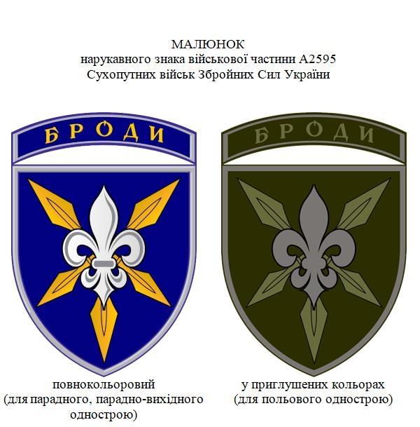нарукавна емблема 16-ї окремої бригади армійської авіації Броди А2595