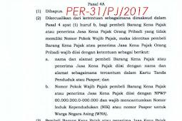 Pemberlakuan PER-31/PJ/2017 Tentang Tata Cara Pembuatan Dan Pelaporan Faktur Pajak Berbentuk Elektronik