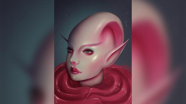 Red | Digital Painting Art