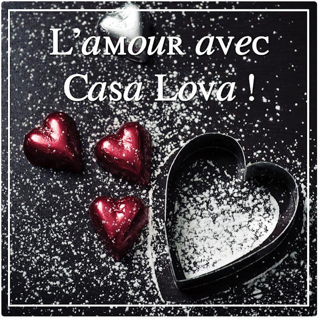 La recette de l'amour éternelle par Casa Lova