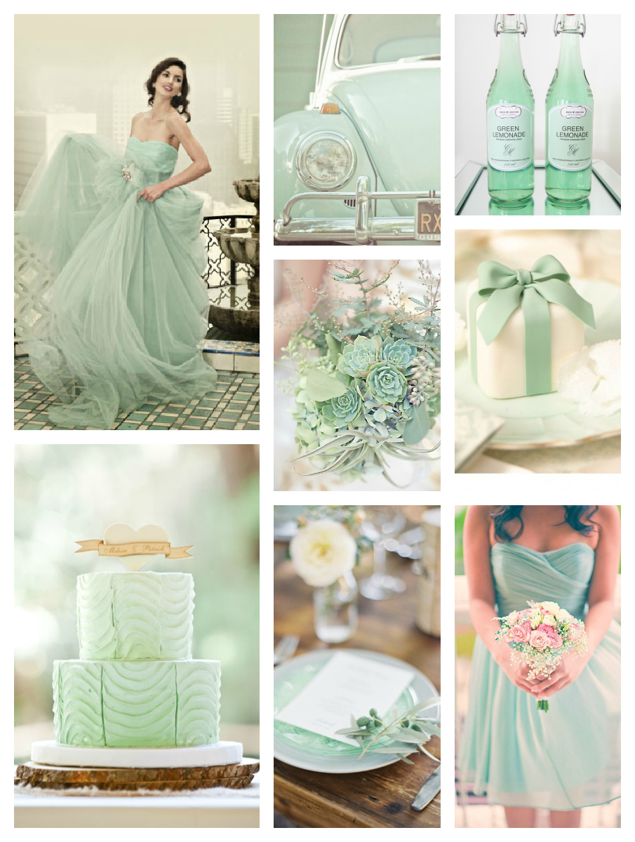 Mint Wedding Trends  Amanda Douglas Events  Winnipeg