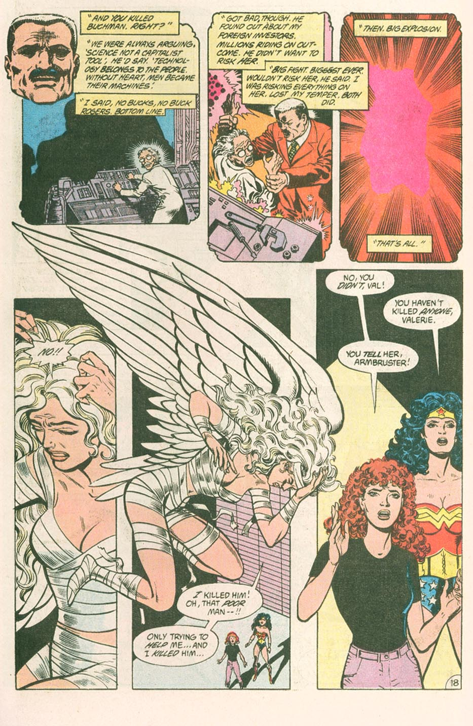Read online Wonder Woman (1987) comic -  Issue #44 - 20