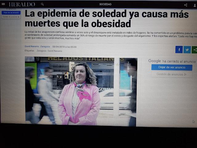 reportaje de psicólogos sexólogos Zaragoza Eva María González