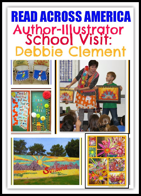 "Author-Illustrator ""Read Across America"" Visit with Debbie Clement"