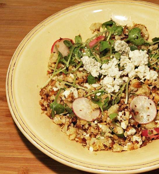 Smitten Kitchen Cauliflower: Moveable Feasts: Heidi's Roasted Cauliflower Rice