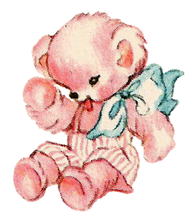 teddy bear toy baby illustration