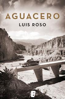 Portada del libro Aguacero, de Luis Roso