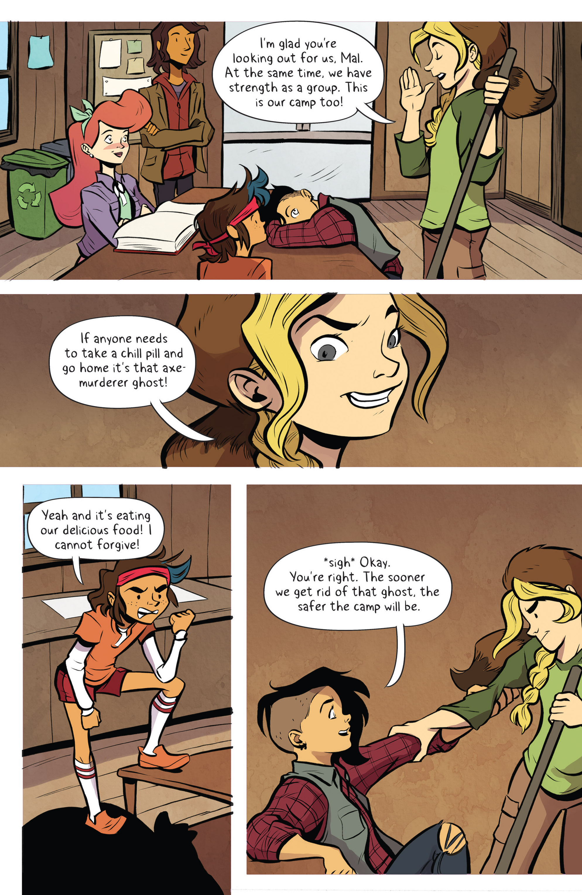 Read online Lumberjanes: Makin' the Ghost of It 2016 Special comic -  Issue # Full - 25