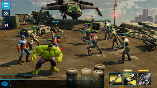 Download MARVEL Strike Force Mod Apk - Game android mod nhập vai hay