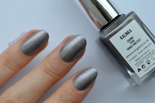 metallic shimmer kalinka a england furious filer silver