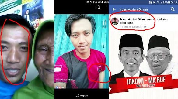 Pembuat Video Fitnah Nenek NTB Yang Dipeluk Prabowo Ternyata Pendukung Jokowi