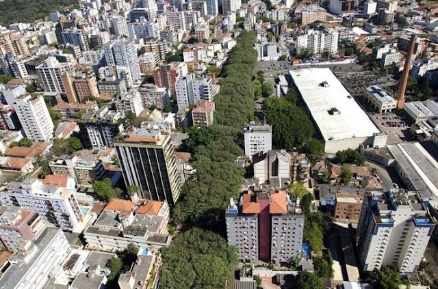 Rua Goncalo de Carvalho, Porto Alegre, Brasil