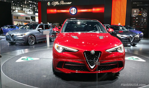 Alfa Romeo Stelvio 2017 NY Auto Show