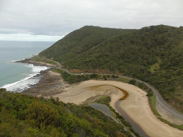 Teddy's lookout Lorne Great Ocean Road Australia