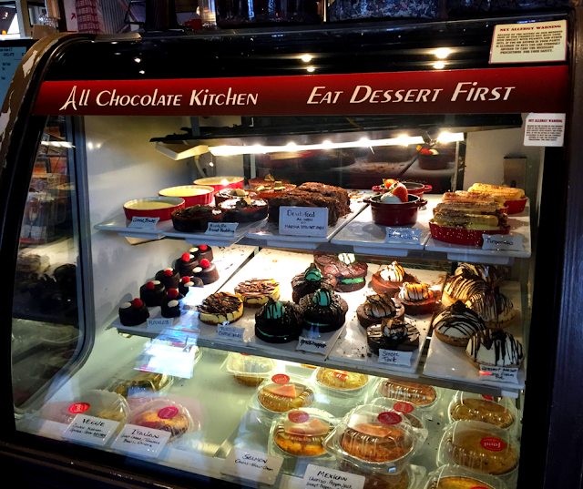Bakery temptations at All Chocolate Kitchen