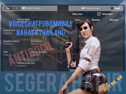 voice quick chat pubg mobile bahasa thailand