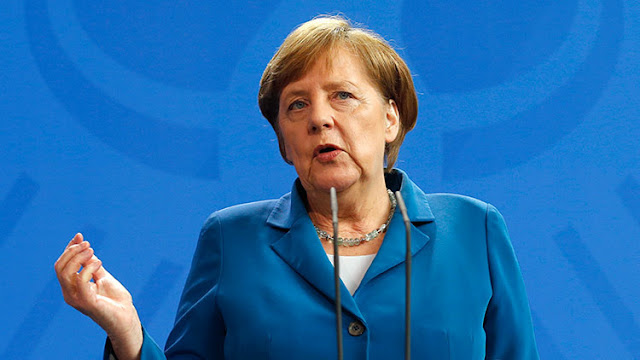 Merkel pide a Trump que coopere con Rusia para solucionar el conflicto de Siria