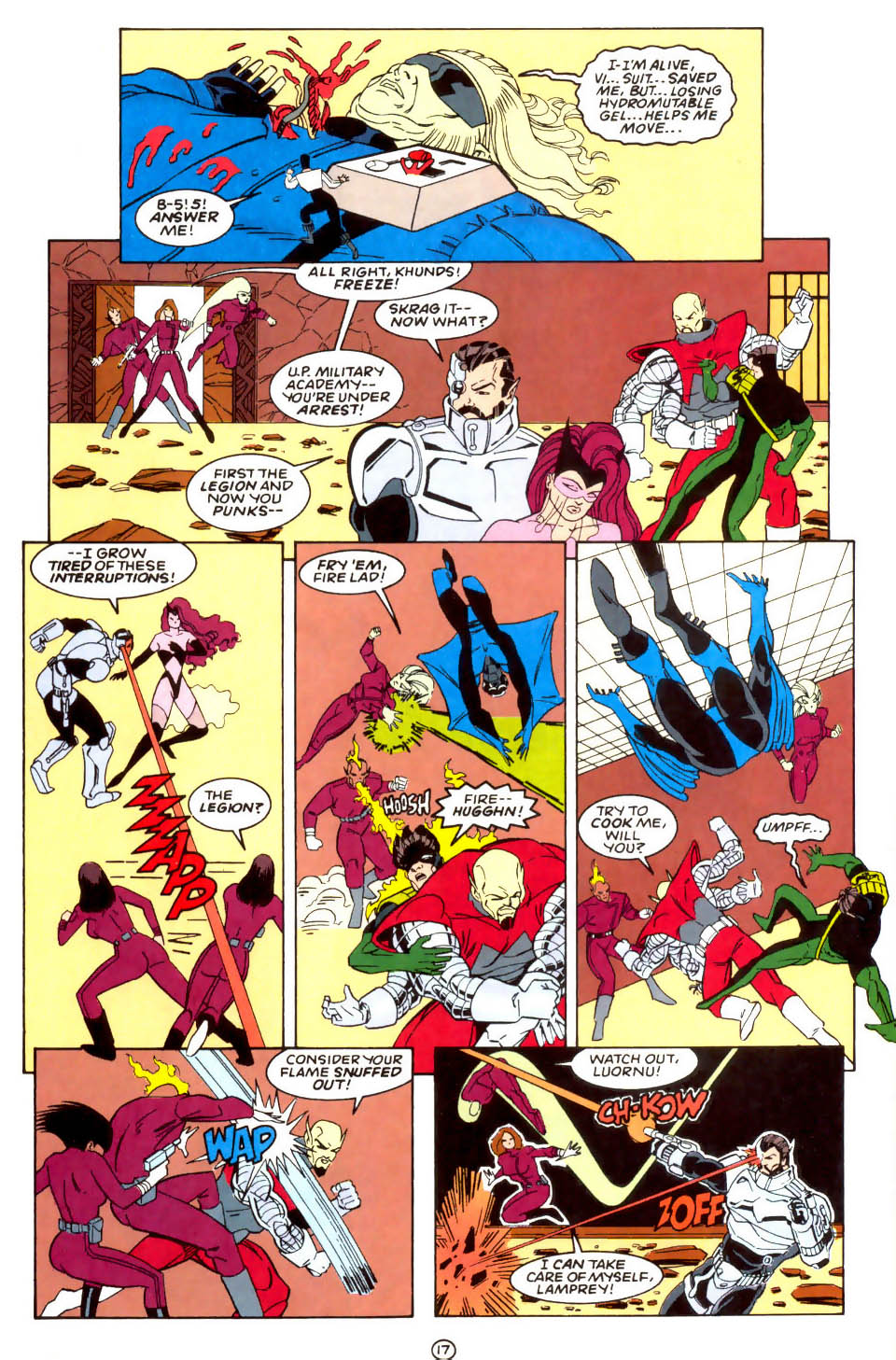 Legion of Super-Heroes (1989) 57 Page 17