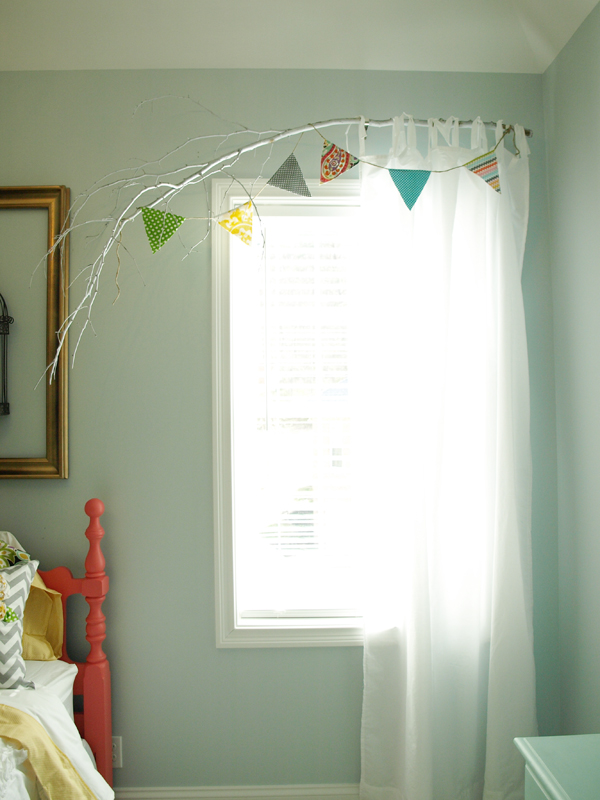 I Prefer The Look Of A Basic Lightweight Airy Curtain With Branch Rod Tie Tab Curtains Are Best For Because