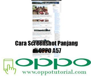Cara Screenshot Panjang di OPPO A57