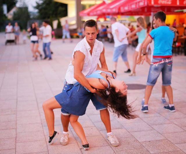 nauka tańca początki