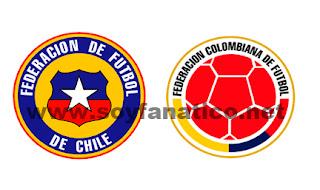 Chile vs Colombia Sudamericano Sub20