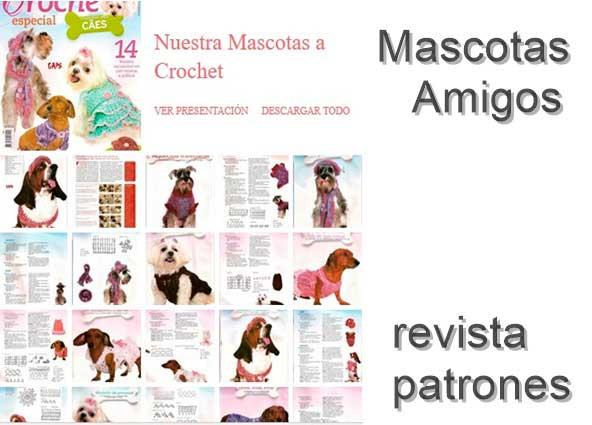 mascota, prendas, crochet, ganchillo, patrones