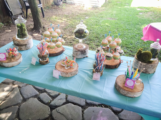 Dessert Buffet at a Fairy Party