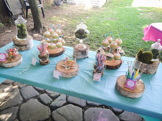 Dessert Buffet at a Fairy Party