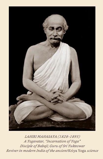 O Despertar da Consciência: SRI LAHIRI MAHASAYA