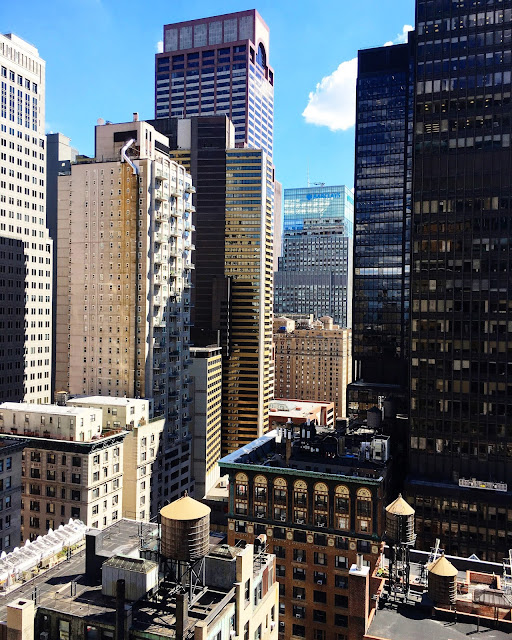 NYC rooftop views from Hotel Chantelle!