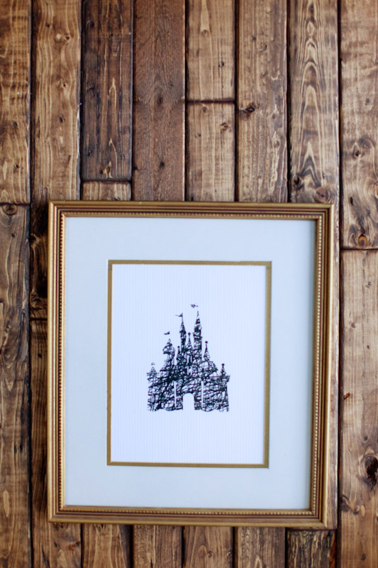 Free modern Disney printable