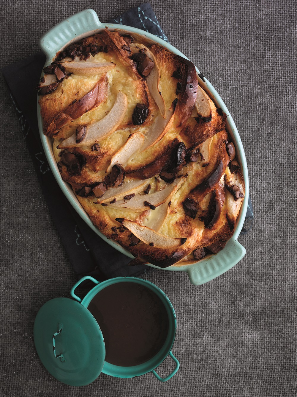 Free State Chocolate Pear Pudding