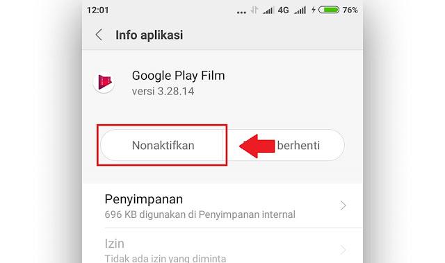 Cara Menonaktifkan Aplikasi Bawaan Xiaomi MIUI 9 Terbaru