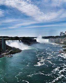 Niagara padá na vodu
