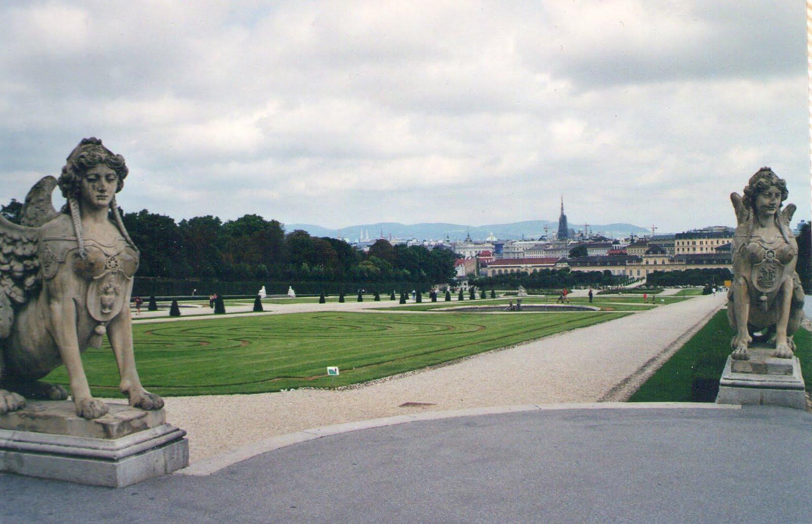 Viena, jardines de Belvedere