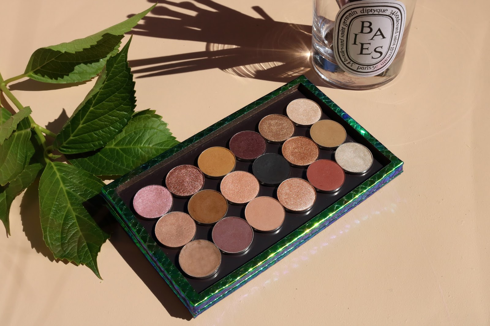 neutral summer fall eyeshadow tz cosmetix z palette whats in my palette flaylay baies colourpop makeup geek eye of horus