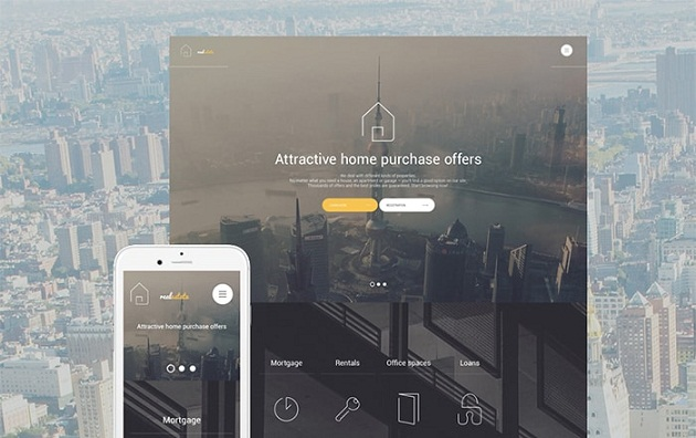 Home Purchase WordPress Theme