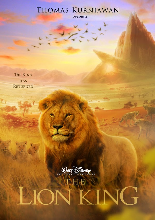 the lion king movie poster artwork